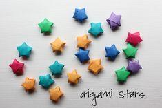 origami stars tutorial