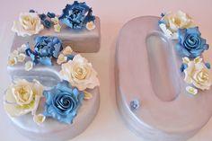 50th Birthday Cakes New Jersey - Sugar Flowers Custom Cakes