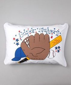 Personalized Super Slugger Pillow Case