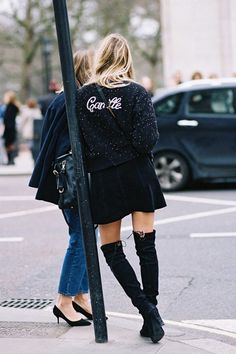 Obsessed with these over knee boots