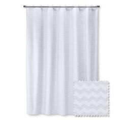 Brooklyn & Bond™ Loft Chevron Shower Curtain - Gray