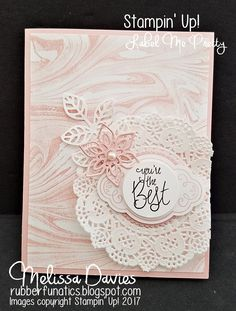 Good Morning, Stampers! We have another great blog hop today! This week, we are sharing our favorite PINK colors with you! I hav...
