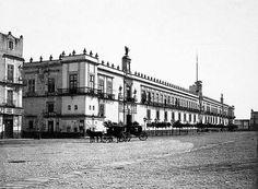 Palacio Imperial... de la Republica 1860...1867