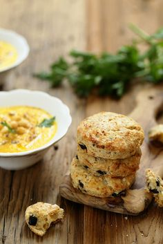 Scones with olives (without eggs)