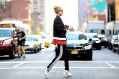 Streetstyle à New York #fashionweek #NYFW