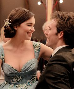 "Emilia Clark and Sam Claflin in Me Before You - Mais um momento do filme ""Me Before You""...na expectativa!!!"