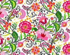 folk floral - Google Search