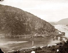 View of Maryland Heights. Confederate States Of America, America Civil War, American War, American History, Maryland Heights, Us History, History Pics, Harpers Ferry, Southern Heritage