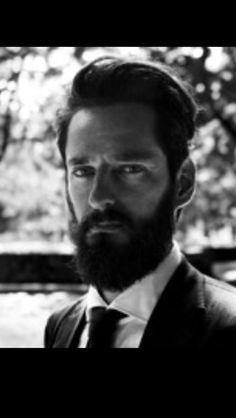 Fancy man with Beard