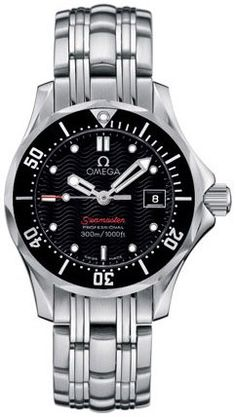 New Omega Seamaster Watch 26% off! http://www.watch4me.net/all-watches/womens-watches/new-omega-seamaster-ladies-300m-watch-21230286101001-com/