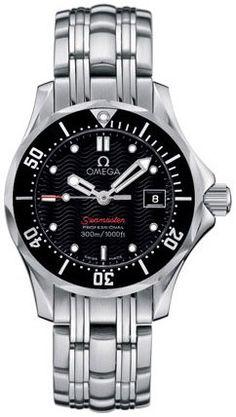 New Omega Seamaster Watch 26% off! http://www.watch4me.net/all-watches/womens-watches/new-omega-seamaster-ladies-300m-watch-21230286101001-com/