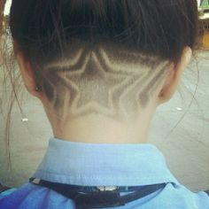 undercut #haircut #star
