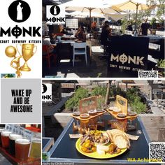 The Monk Brewery Kitchen - Fremantle caf'e strip Perth Western Australia, Nook And Cranny, The Monks, Brewery, Tourism, Table Settings, Icons, Table Decorations, Kitchen