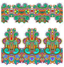 Image result for border digital paisley