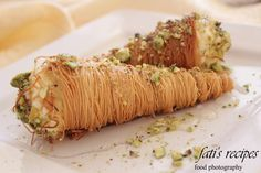 canny kataifi cones - click to enlarge