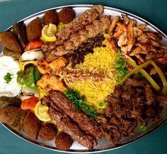 Arabic food party platters http://pinterest.com/pin/146718900332421215/