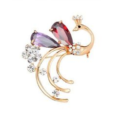 Buyinhouse Ladies Girls Brooches Golden Plated Rhinestones Crystals Peacock Brooches Pin Clips All-match Clothing Accessories Suitable for Any Occasions Buyinhouse http://www.amazon.com/dp/B00JQU50IM/ref=cm_sw_r_pi_dp_WUX8ub0FWB41J