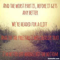 Paramore Turn it off lyrics quote brand new eyes