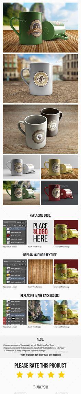 Coffee Mug MockUp | 3 PSD #mockup Download: http://graphicriver.net/item/coffee-mug-mockup-3-psd/11547099?ref=ksioks