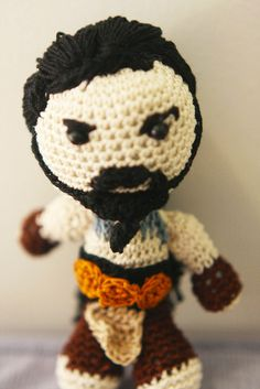 Khal Drogo (Game of thrones) (no pattern)