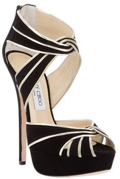 Suede Sandal by Jimmy Choo