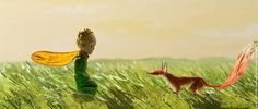 The Little Prince and the Fox (Le Petit Prince 2015)