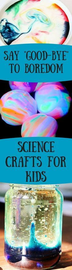 30 Science Crafts and Space Crafts for Kids | http://AllFreeKidsCrafts.com