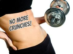 20 WAYS TO WORK YOUR ABS WITHOUT CRUNCHES- .