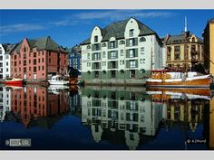 Hotel Brosundet, Alesund, Norway