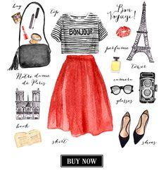 Watercolor fashion illustration on Behance