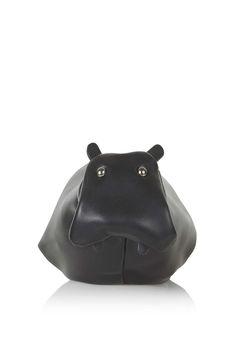 Novelty Hippo Coin Purse - Topshop USA