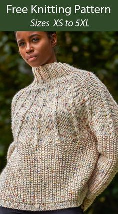 Free Knitting Patterns For Women, Fair Isle Knitting Patterns, Knitting Machine Patterns, Sweater Knitting Patterns, Knitted Poncho, Knit Patterns, Knitting Ideas, Pullover A Form, Sweater Design