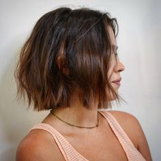 Textured short bob hair cut by Tanner at Spruce Salon in Austin, TX with subtle balayage hair color by Leah. Subtle Balayage, Hair Color Balayage, Ombre Hair, Ombre Bob, Haircolor, Fringe Hairstyles, Summer Hairstyles, Cool Hairstyles, Stylish Short Haircuts