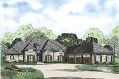 4 Bedroom Grandeur - 60502ND | 1st Floor Master Suite, Bonus Room, Butler Walk-in Pantry, CAD Available, Den-Office-Library-Study, European, French Country, Jack & Jill Bath, Loft, Luxury, MBR Sitting Area, PDF, Photo Gallery, Split Bedrooms | Architectural Designs