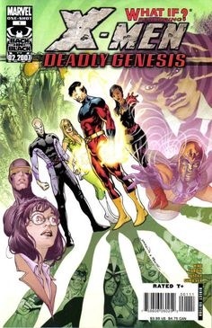 X-Men: Deadly Genesis: X-Men: Deadly Genesis introduced a long lost team of X-Men who died on their mission.What If Xavier's secret second team had survived? X Men, Emo, Panini Comics, New Warriors, Marvel Series, Marvel X, Mass Effect, Cyclops, Gi Joe
