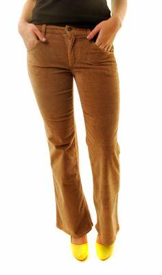 JOE'S JEANS Wide Wale Corduroy Pants In Taupe FWDY5540 Size W26 BCF610