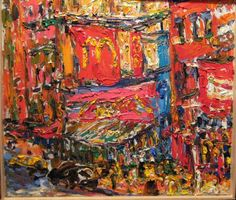 "PHILIP LAWRENCE SHERROD NA/- (STREET*PAINTER)-*PAINTING*-..(*NYC*/-..*PLEIN*AIR*!)?(*FOUNDER*/-..-*STREET*PAINTERS*NYC)!?  TITLE: -""1ST*AVE./-..5TH*STREET/-..Mc*DONALDS/-..EAST*SIDE*STREET!)-..NYC?""  MED:O/C   SIZE:18 1/2"" X 20 1/2""   DATE:2007-(artist's(C)copyright"