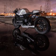 "bike-exif: ""Here's another look at @mikefloresdp's BMW K100, built by him at @luckywheelsgarage and using parts from @cognitomoto. Hit the link in our bio for more. #bmw #bmwmotorrad #bmwmotorcycles #k100 #flyingbrick #caferacer "" fresh*"