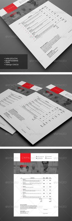 ◮ [GET]▵ Invoice 2 Brochure Brohure Card Clean Corporate Couple Web Design, Layout Design, Creative Design, Invoice Design, Invoice Template, Cv Inspiration, Brochure Layout, Publication Design, Graphic Design Print
