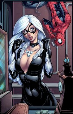 Good morning administrator., today you have five reunions with headhunters and a travel by the dute with me. (WTF?) Do you have some part of your body with free taxes to put on my boobs?    Black Cat and Spider-Man by *DAlexisStPierre on deviantART