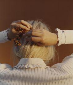 Anecdote SS17 Campaign. Photographer: Chloe le Drezen. Stylist: Thomas Vermeer.