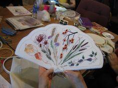 Kajsa's stitching and more: Brazilian embroidery class and finish!