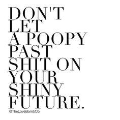 Let that shit go.