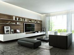 Muebles modernos para Living