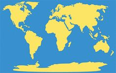 a continent is larger than an island and is usually made up of multiple countries there are seven continents in the world although some