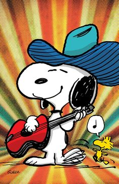 SNOOPY & WOODSTOCK~ COUNTRY TUNES.