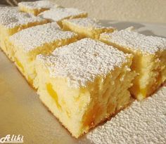 Perfectly balanced with zing and crunch. Easy Cake Recipes, Sweet Recipes, Baking Recipes, Cookie Recipes, Dessert Recipes, Greek Sweets, Greek Desserts, Bosnian Recipes, Croatian Recipes