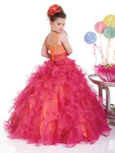 Pageant Dresses for Little Girls - 13310 Size  4