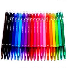 Buy Pilot FriXion Ball Slim Retractable Erasable Gel Ink Pens, Extra Fine Point, mm, 20 colors set (Japan Import) [Komainu-Dou Original Package] at Wish - Shopping Made Fun Erasable Highlighters, Writing Correction, Fine Point Pens, Gel Ink Pens, Pen Case, Rollerball Pen, Marker Pen, Pen Sets, School Supplies