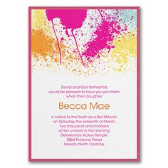 113 best bar and bat mitzvah invitations images on pinterest in 2018